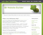 My original website, SBI-Website-Builder.com