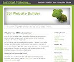 My original website, SBI-Website-Builder.com