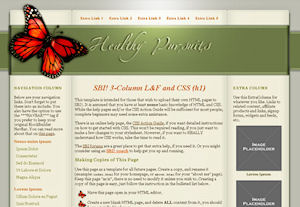 Simple web design make the perfect accompaniment to quality design
