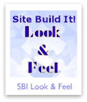 Working with Site Build It's Look & Feel Selector
