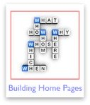 How to build a home page that rocks!