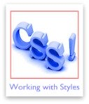 Tutorials about working with CSS stylesheets and codes