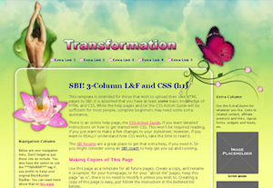One of the beautiful SBI templates available if you design your  own website