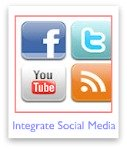 How to integrate social media into your webpages